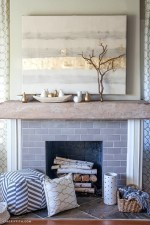 Wonderful Fireplace Makeover Ideas For Fall Home Décor08