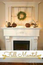 Wonderful Fireplace Makeover Ideas For Fall Home Décor32