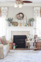 Wonderful Fireplace Makeover Ideas For Fall Home Décor40