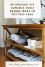 48 Unusual Diy Console Table Design Ideas To Try This Year