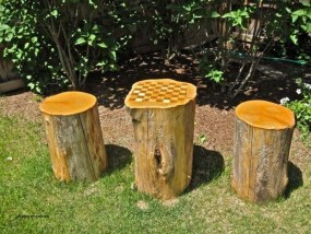 Attractive Diy Logs Ideas For Summer Garden To Try Right Now06