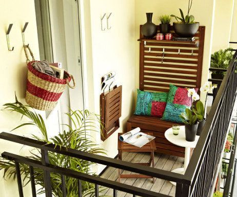 Charming Balcony Design Ideas For Summer24