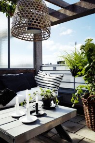 Charming Balcony Design Ideas For Summer46