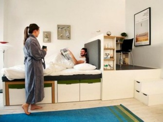 Cool Hidden Storage Design Ideas For Small Spaces To Try05