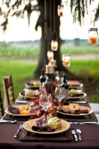 Elegant Diy Thanksgiving Design Ideas For Outdoor Decorations38