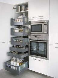 Enchanting Ergonomic Kitchens Design Ideas To Try Right Now40