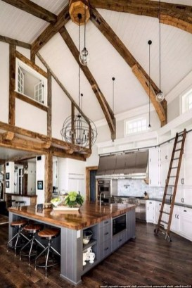 Extraordinary Farmhouse Kitchens Design Ideas That Have An Elegant Looks40