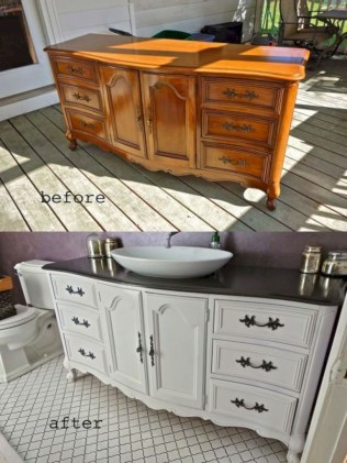 Extraordinary Old Furniture Ideas To Beautify The Decor15