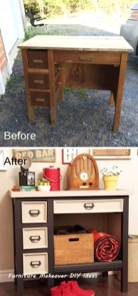 Extraordinary Old Furniture Ideas To Beautify The Decor20