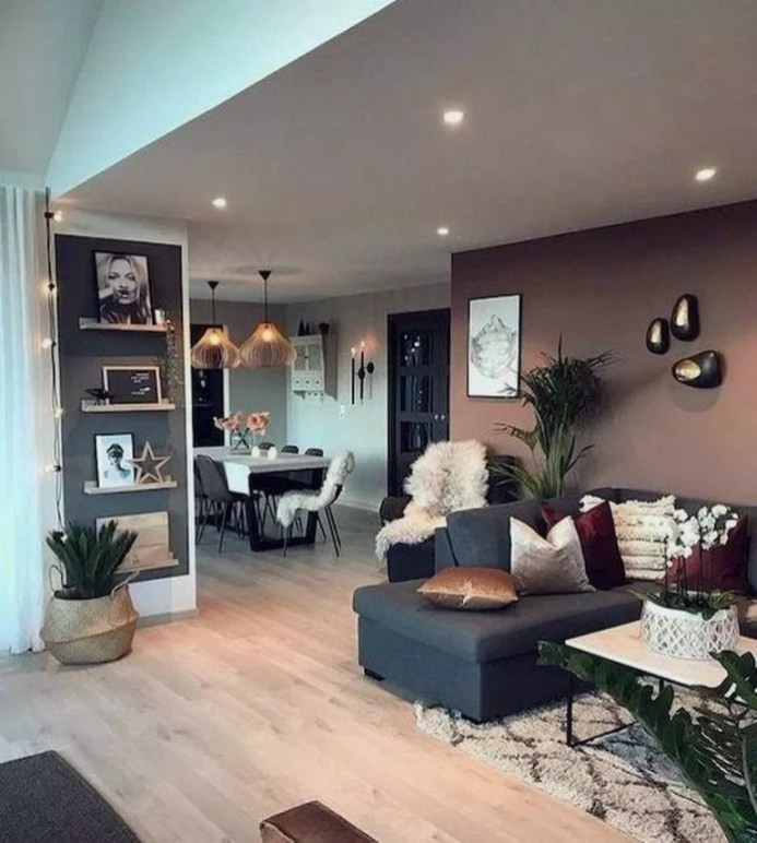 Flawless Diy First Apartment Design Ideas For Living Room37