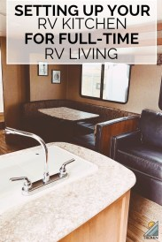 Gorgeous Rv Kitchen Accessories Ideas To Copy Right Now14