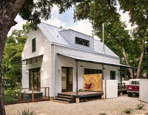 Latest Exterior Design Ideas For Tiny House To Try19