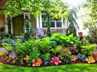 Modern Shade Front Yard Design Ideas For Summer33