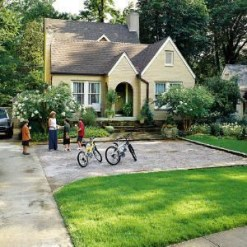 Modern Shade Front Yard Design Ideas For Summer35