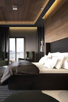 Modern Small Bedroom Design Ideas That Are Look Stylishly Space Saving40