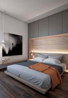 Modern Small Bedroom Design Ideas That Are Look Stylishly Space Saving43