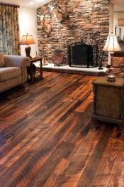 Newest Wooden Floor Design Ideas In My Tiny House Style27