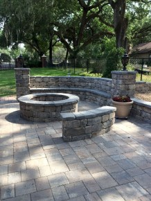 Superb Diy Fire Pit Ideas To Try In The Backyard02