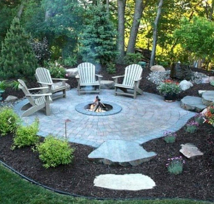 Superb Diy Fire Pit Ideas To Try In The Backyard41