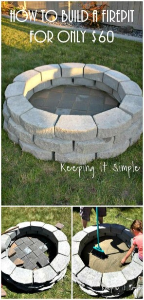 Superb Diy Fire Pit Ideas To Try In The Backyard45