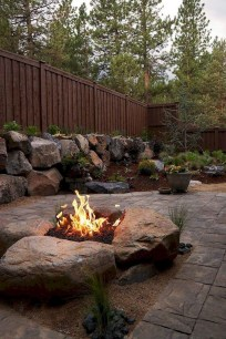Superb Diy Fire Pit Ideas To Try In The Backyard47