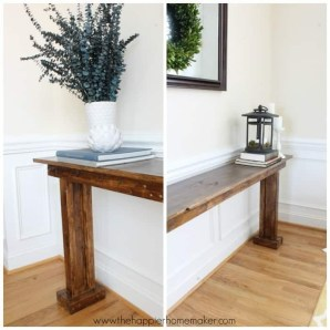 Unusual Diy Console Table Design Ideas To Try This Year10