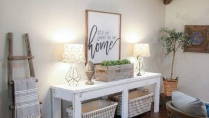 Unusual Diy Console Table Design Ideas To Try This Year25