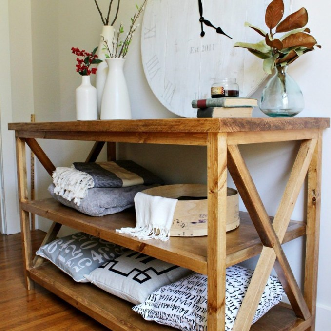 Unusual Diy Console Table Design Ideas To Try This Year30