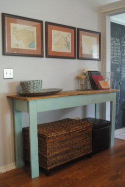 Unusual Diy Console Table Design Ideas To Try This Year43