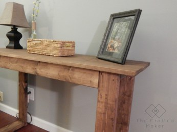 Unusual Diy Console Table Design Ideas To Try This Year48