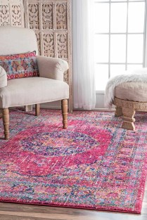 Unusual Painted Rug Design Ideas For Relaxing Screened Porch24