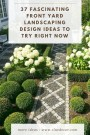 37 Fascinating Front Yard Landscaping Design Ideas To Try Right Now