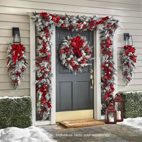 Adorable Christmas Home Design Ideas To Fun Up Your Home26