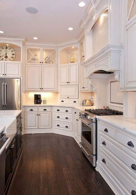 Affordable Kitchen Cabinet Design Ideas That Make Your Kitchen Looks Neat07