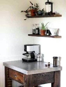 Best Home Coffee Bar Design Ideas You Must Have In Your House20