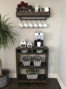Best Home Coffee Bar Design Ideas You Must Have In Your House22
