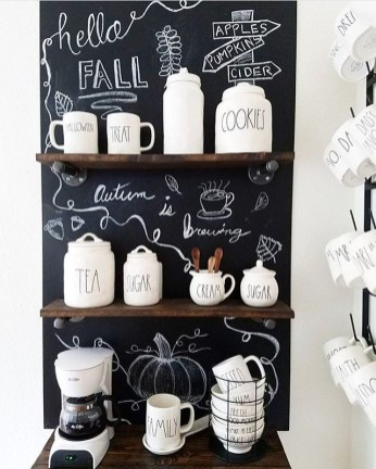 Best Home Coffee Bar Design Ideas You Must Have In Your House26