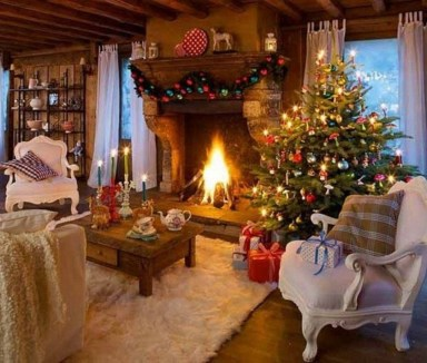 Extraordinary Christmas Living Room Decoration Ideas To Try Asap07