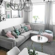 Hottest Small Living Room Decor Ideas For Your Apartment To Try38
