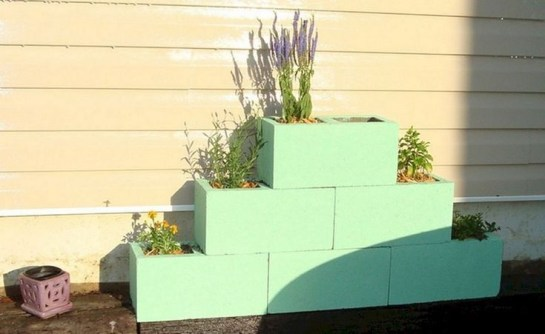 Latest Home Garden Design Ideas With Cinder Block To Try06