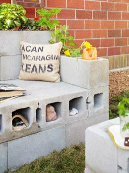 Latest Home Garden Design Ideas With Cinder Block To Try20