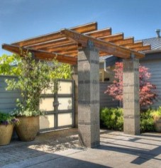 Latest Home Garden Design Ideas With Cinder Block To Try22