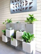 Latest Home Garden Design Ideas With Cinder Block To Try30