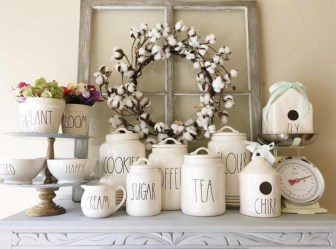 Newest Rae Dunn Display Design Ideas To Make Beautiful Decor In Your Home06