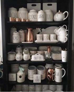 Newest Rae Dunn Display Design Ideas To Make Beautiful Decor In Your Home10