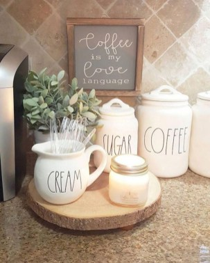 Newest Rae Dunn Display Design Ideas To Make Beautiful Decor In Your Home35