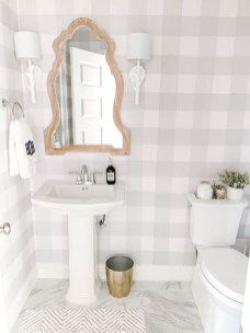 Trendy Farmhouse Bathroom Design Ideas To Try Right Now01