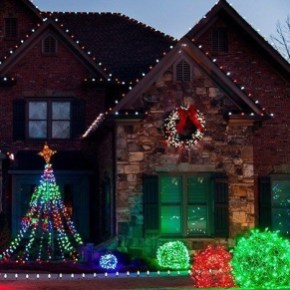 Unusual Diy Christmas Light Balls Ideas For Outdoor Decoration12