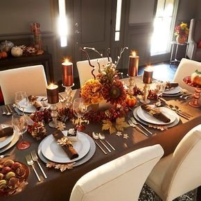 Amazing Thanksgiving Tablescapes Ideas For More Taste And Enjoyful06