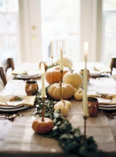 Amazing Thanksgiving Tablescapes Ideas For More Taste And Enjoyful10